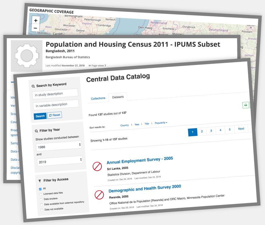 NADA   Microdata Cataloging Tool